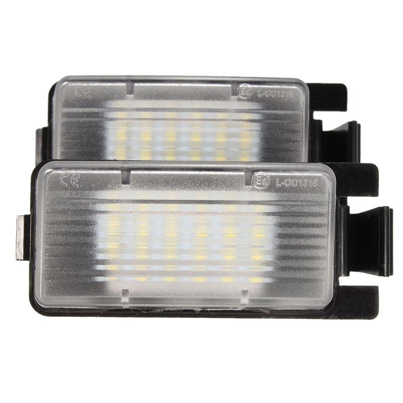 Lámpara de luz LED 2X de matrícula para los 350Z 370Z GTR Infiniti G35 G37 G25