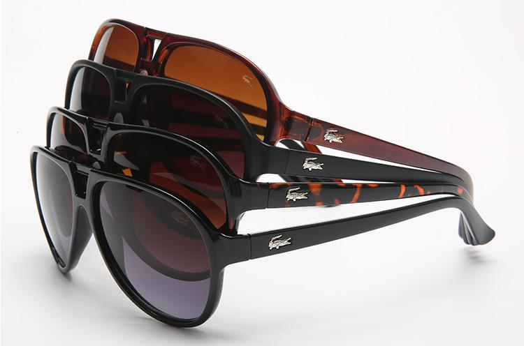 2019 새로운 스타일의 스퀘어 여성 (714 개) 선글라스 악어 브랜드 디자이너 남성의 태양 안경은 spors 안경을 운전 편광