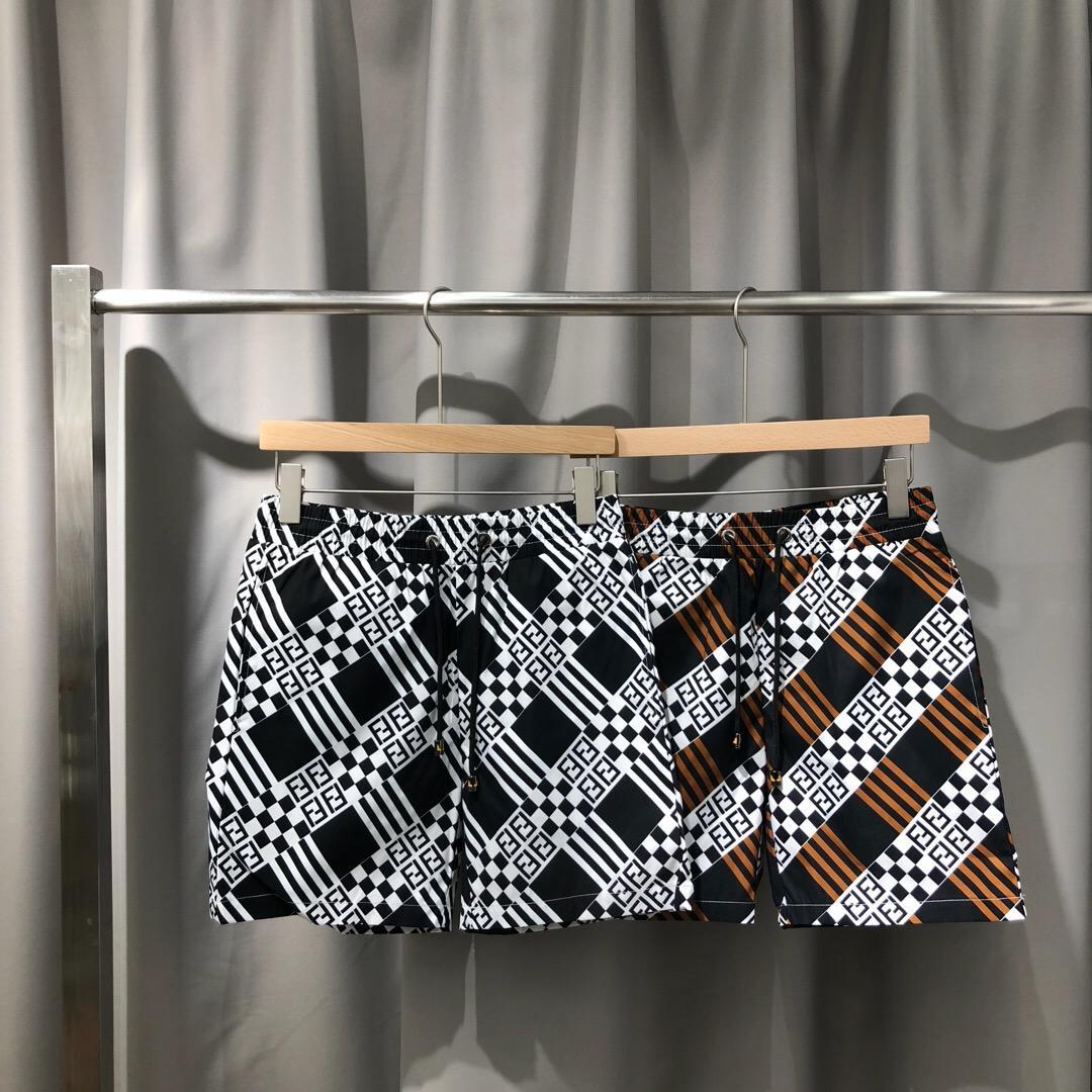 Primavera e Verão rápida calções de secagem padrão clássico carta de dupla camada de impressão digital de malha interior tamanho calças praia m-xxxl 212
