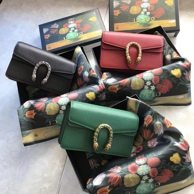 Top f Qualité Design Lettre Boucle Mini Cluth Marmont épaule chaîne Sac femmes en cuir véritable 476432 Sac Messenger