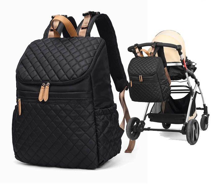 متعدد الوظائف حفاضات الطفل حقيبة الظهر قدرة كبيرة بوس الظهر مريح مصمم على ظهره الأشرطة أنيق للسفر ومنظم