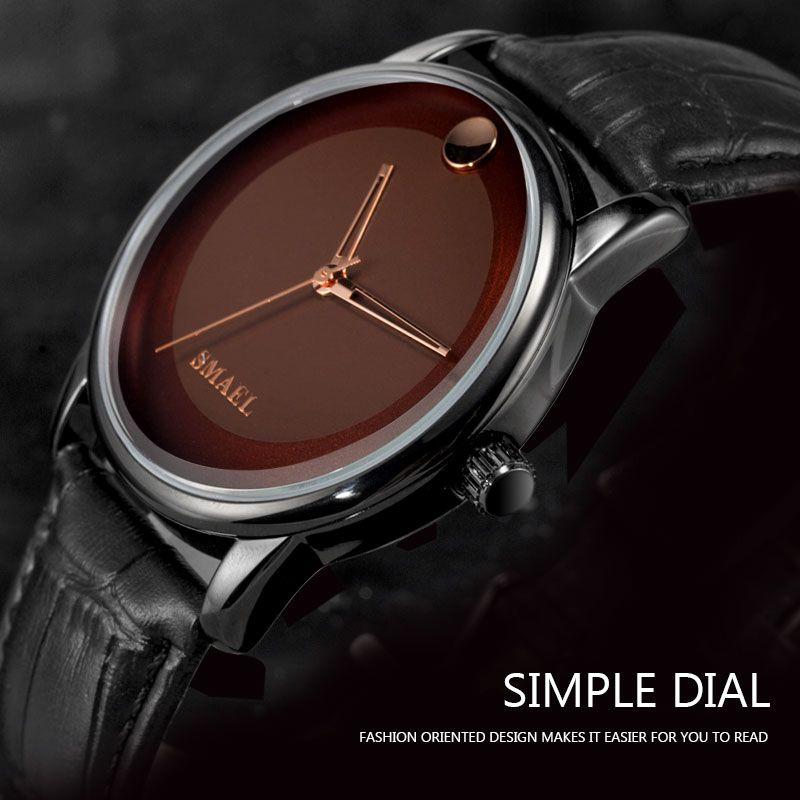 Quarz Uhren mit Datum Smael Neue Männer Uhren Sport Militär Armbanduhr Quarz Armbanduhren Wasserdicht 1897cleine Männer Digital