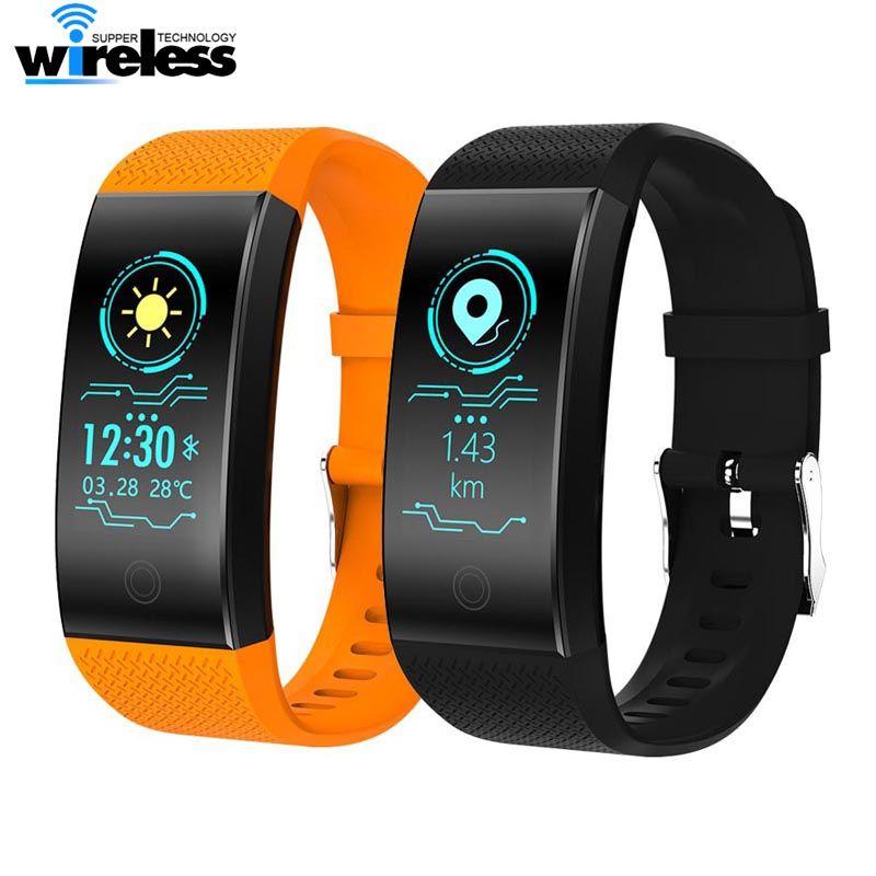 QW18 Smart Armband Intelligent Sport Armband Fitness Sleep Tracker IP67 Uhr Outdoor Smartband Relogio Cardiaco