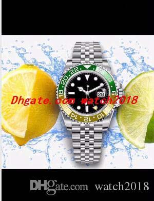 Spedizione gratuita Automatic Jubilee Blro II orologio da polso 40mm B / P Bancia in ceramica 126710 Corona in acciaio senza mai indossato moda nuovo braccialetto orologi OPI
