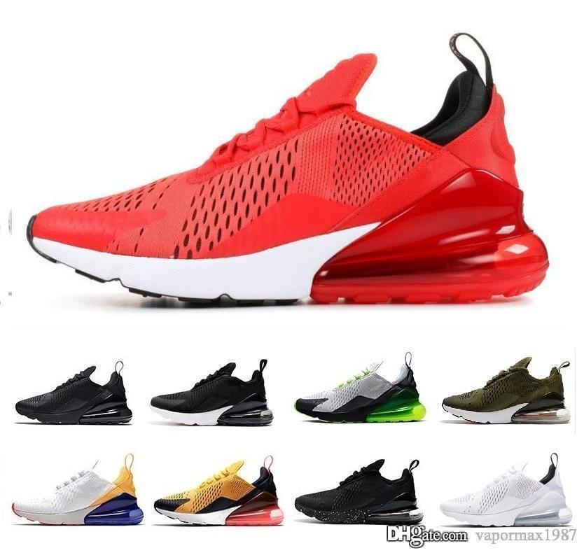 2020 hombre del diseñador de los zapatos corrientes de los hombres ocasional de las mujeres del amortiguador de aire triples Negro Tigre Blanco Oliver vestir Entrenadores Zapatos deportivos zapatillas de deporte