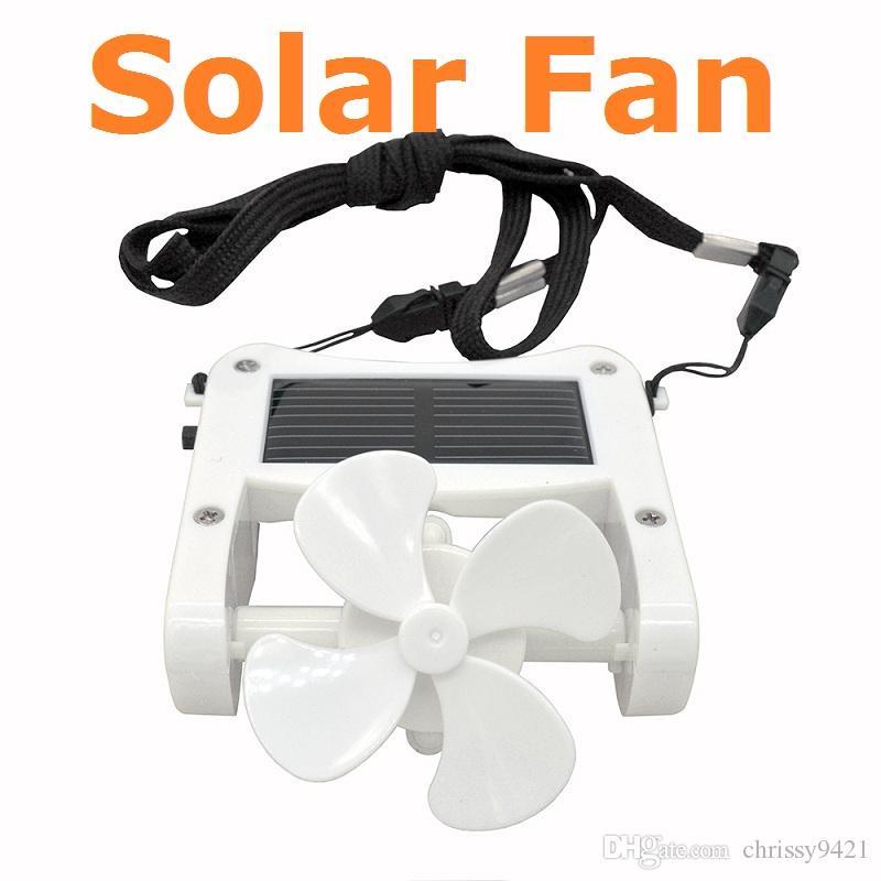 휴대용 태양 전원 냉각 팬 클립에 미니 모자 캡 팬 태양 전지 패널 셀 비치 캠핑 하이킹 등반 태양 팬 USB 컴퓨터