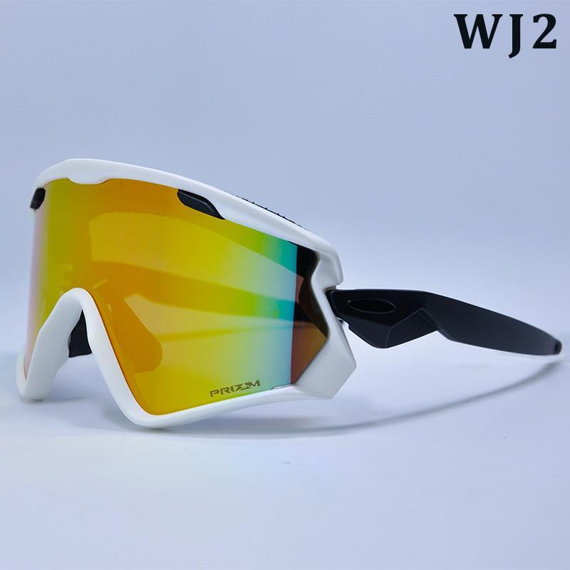 2019 Nueva completa un ciclo los vidrios Espejo Marca hombres que completan gafas 3 bici de la lente gafas de sol gafas