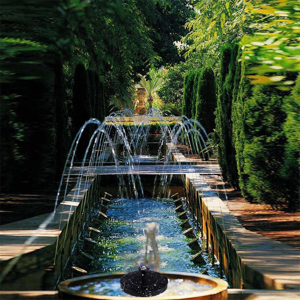 Solar Fountain Pump Water Power Pump Bird Bath Floating Pond Garden Patio Decor
