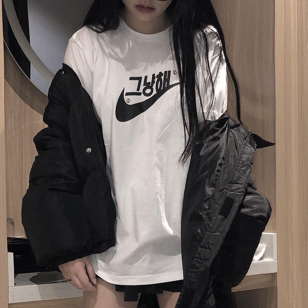 Ins2020 nueva marca de moda algodón de la camiseta de manga corta impresa hombres y mujeres Harajuku ropa mujer tops de las mujeres de la camiseta de la vendimia