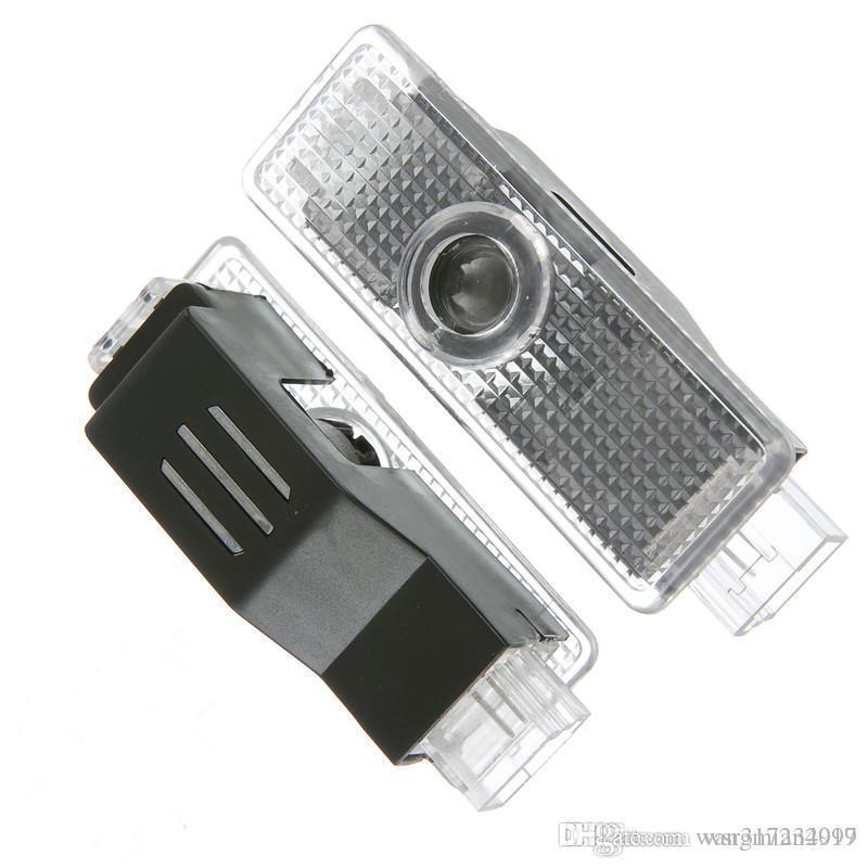 Car accessor Car door lights logo projector welcome led lamp ghost shadow lights For Audi A3 A4 Q5 Q7 TT A5 A8 A1 A8L A6L Q3 R8