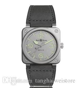 Hot Sale Square Sport Watch Men Table Leather Steel Case Japan Movement Leather Strap Clock Luxury Quartz Men Watches