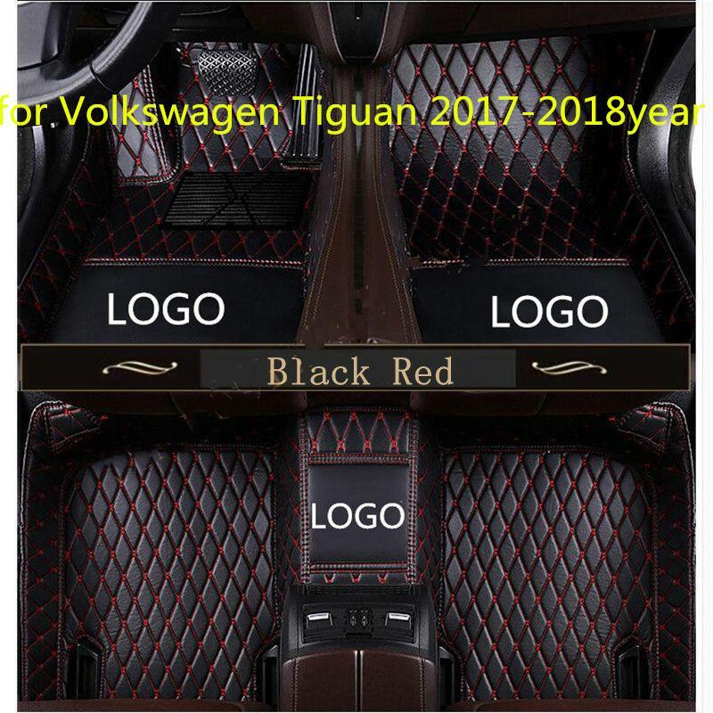 for Volkswagen Tiguan 2017-2018year non-slip non-toxic foot pad car foot pad