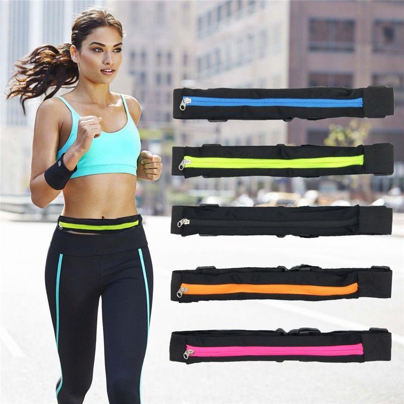 Creative Sports Waist Bag Running Pocket Jogging Portable Waterproof Cycling Bum Bag Outdoor Phone anti-theft Pack Belt Bags #342695