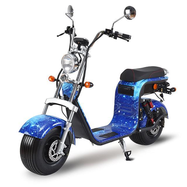Modern Fashion Riding Vehicle EEC Citycoco 2000W Europe Warehouse Stock 2 Batteries 20AH Unfoldable Rental Citycoco