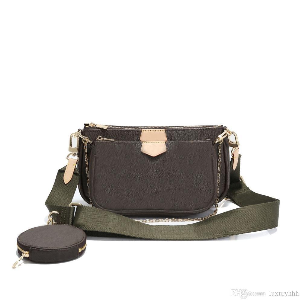 Fato de Três Peças bolsas de grife vendas quentes marca Moda bolsa de ombro de luxo monograma frete grátis presente de Natal Dia dos Namorados