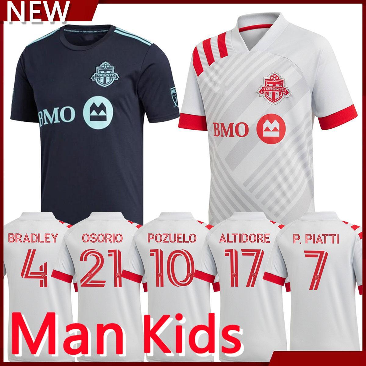 2021 New 20/21 MLS Toronto FC Soccer Jerseys 2021 Home Away Soccer ...
