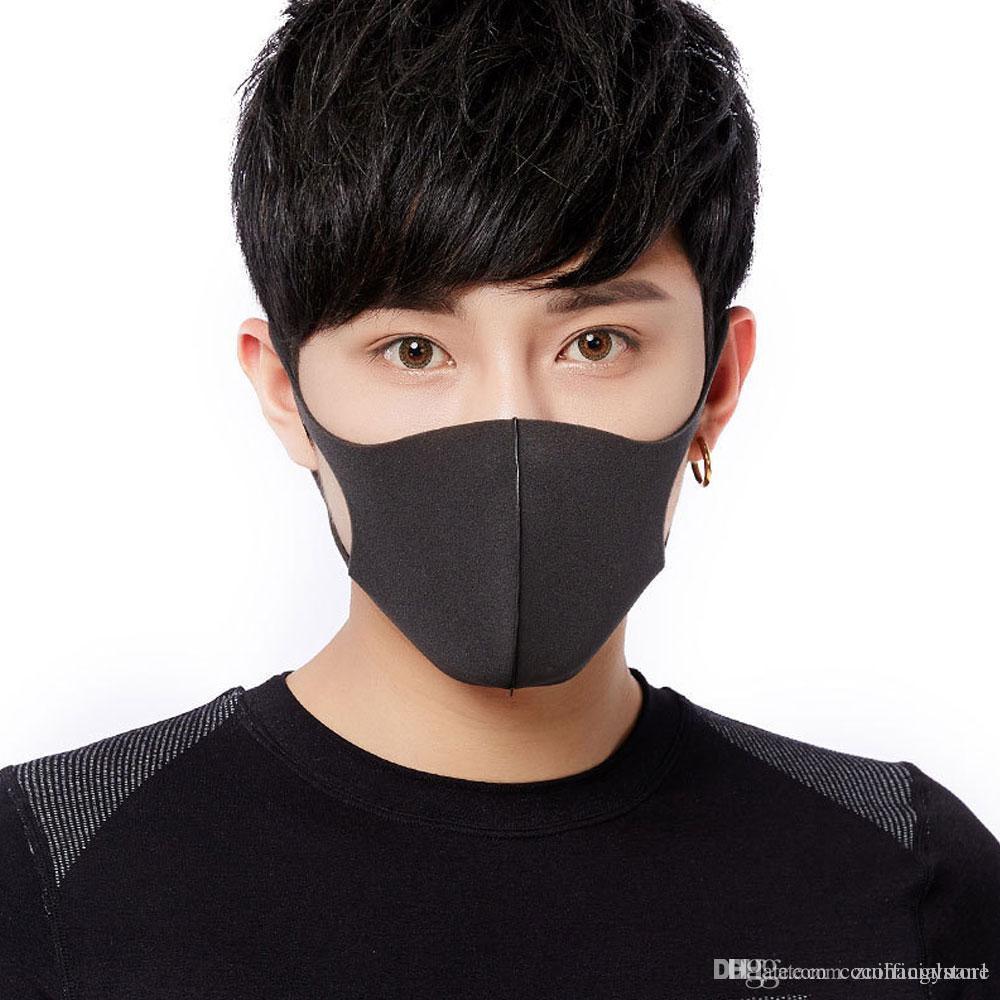 Toz geçirmez Anti- Yıkanabilir - - Anti Toz Yüz Ağız Kapak PM2.5 Respiratörü Maske Tekrar Kullanılabilir Rahat Maskesi Ücretsiz Kargo
