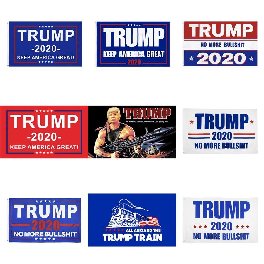 Donald Trump Bayraklar Trump 2020 Kampanyası Bahçe Bayrak Başkanı Bağımsızlık Günü Bahçe Afiş tutun Amerika Büyük Bayrak Bahçe Süsleme CLS55 # 80
