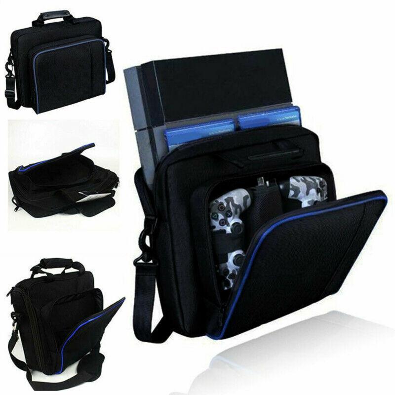 패션 여행 캐리 가방 보관 여행 보호 케이스 핸드백 어깨 가방의 경우 플레이 스테이션 4 PS4 콘솔 액세서리