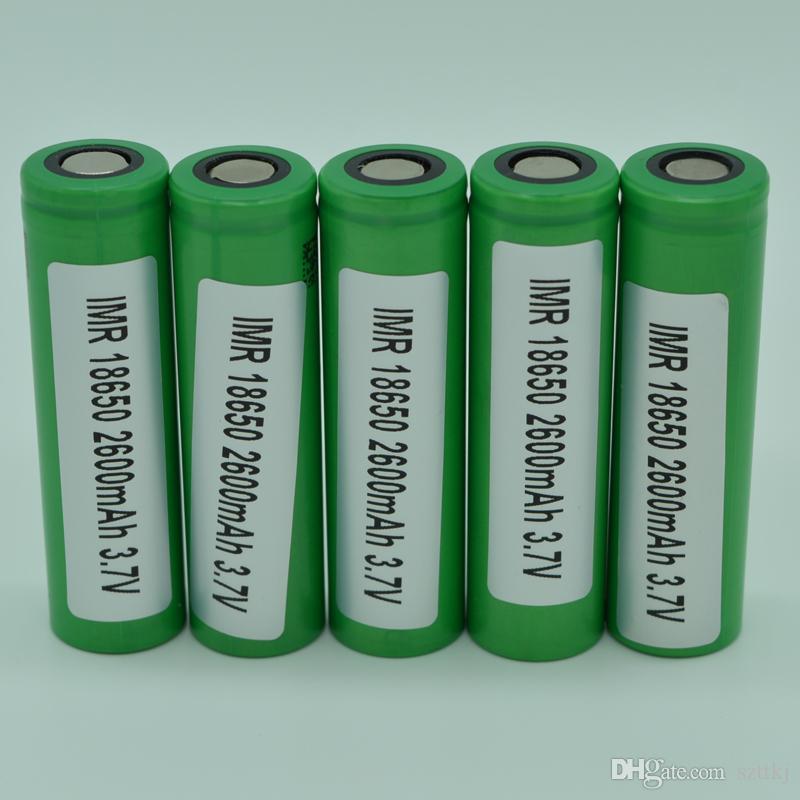 US18650 VTC5 2600 mAh VTC4 2100 mAh 3.7 V bateria Li-ion clone para E cigarro Manhattan King Nemesis Stingray Mecânica mods