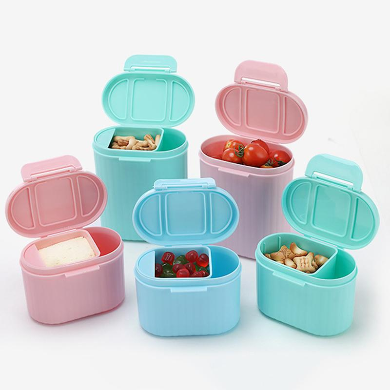 Baby Storage Milk Powder Container Baby Milk Powder Storage Box Portable Out Food Cans Plastic Single Layer For Infant