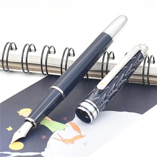 جديد الفاخرة القلم بيتيت الأمير كلاسيك ألمانيا ميغابايت ماركة الرول الكرة القلم / قلم رصيف حبر جاف خيار القلم لكتابة هدية