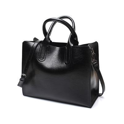 Saco de couro Bolsas Big Bag Mulheres de alta qualidade Casual Feminino Bags Tronco Tote espanhol Marca ombro das senhoras Grande Bolsos