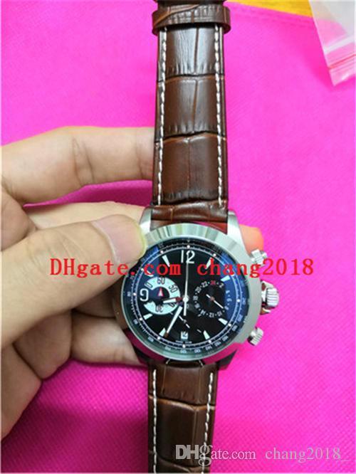 en cuir pour mouvement à quartz de la marque des hommes de montres de luxe de haute qualité de l'homme Montres Hommes ww010