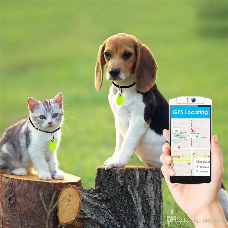 뜨거운 판매 미니 스마트 무선 블루투스 트래커 자동차 어린이 지갑 애완 동물 키 파인더 GPS Locator 전화에 대 한 안티 분실 경보 알림