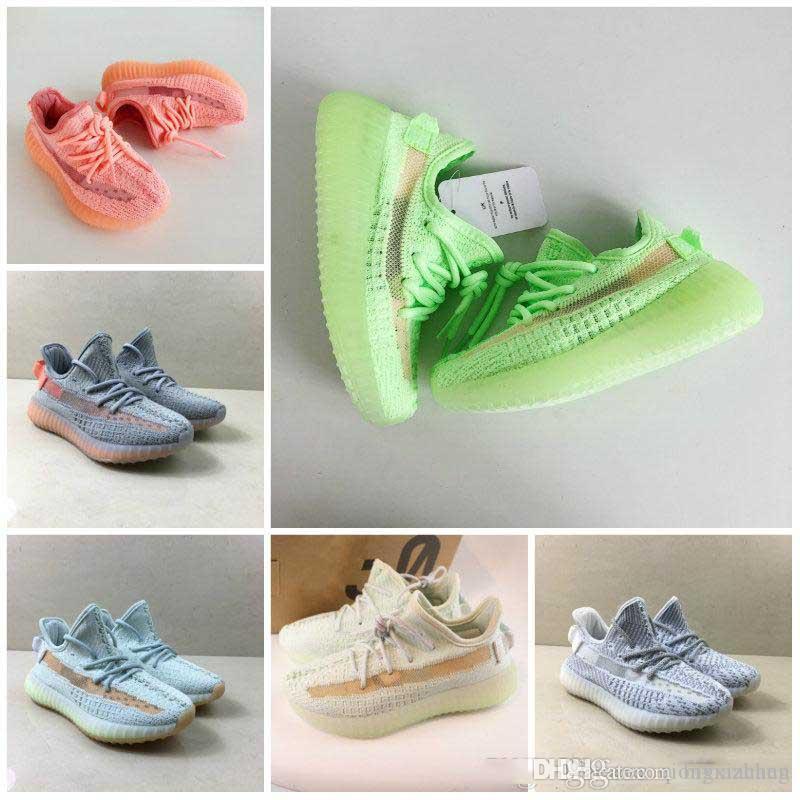 bebê menina meninos Crianças 35V20 respirável Basketball Sneaker Designer de sapatos Wudao Sports Athletic Shoes Casual Primavera executando Sho das Crianças