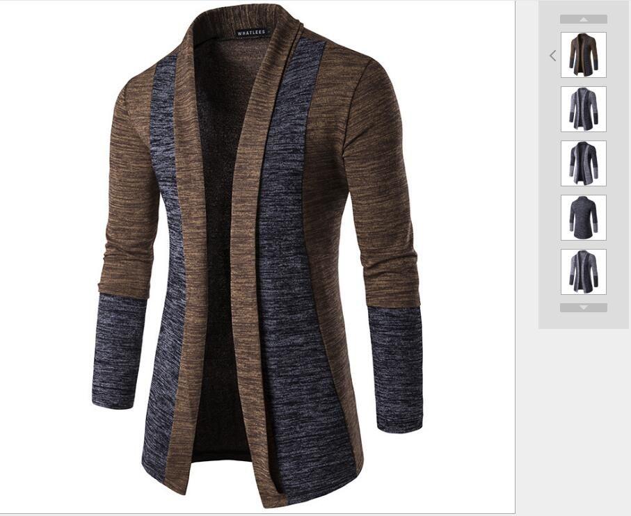 Uzun kollu ve yüksek kaliteli kumaşların geniş bir seçkisi olan yeni Avrupa ve Amerikan erkek hırkaları, modaya uygun ve çok yönlüdür.