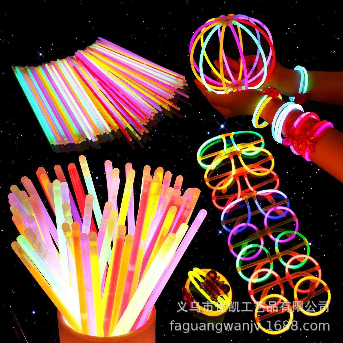 Yiwu Fabrik direkt Knicklicht- sticks Glow Leucht Sticks haften verteilt heißen Verkauf fluoreszierenden stick