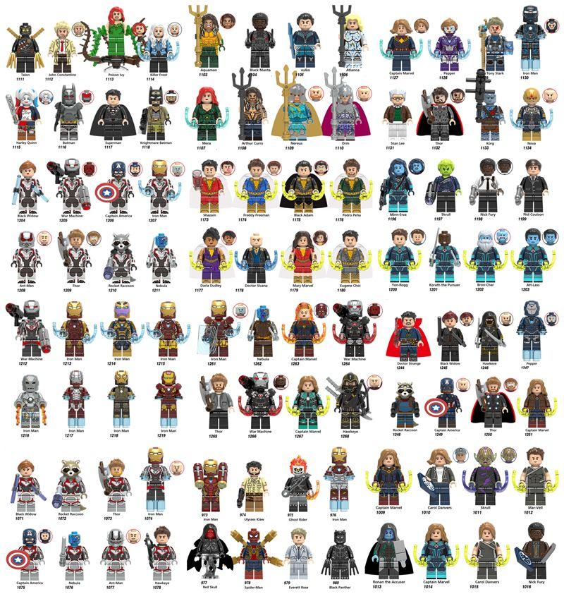 Building Blocks Super Hero Figures Toys Joker Toys mini Action Figures Bricks minifig XINH111