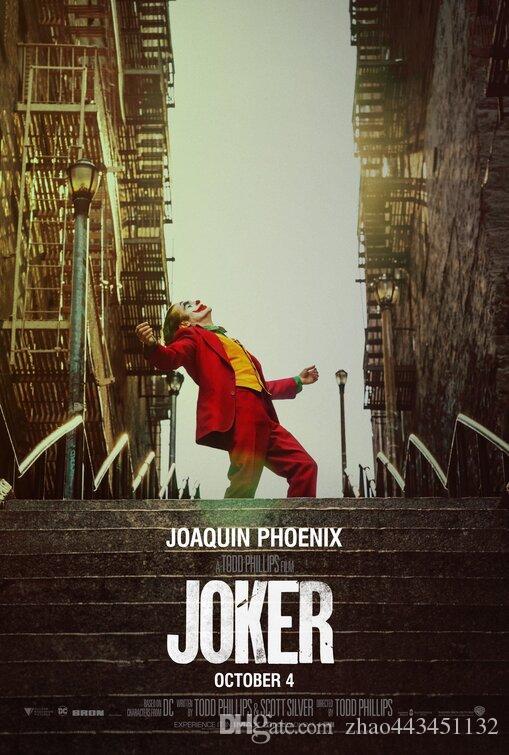 Joker de seda del arte del cartel imprimir nueva película