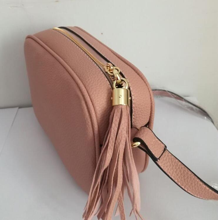 Moda Perfil Bag Mulheres Mulheres Designer Saco De Ombro Tassel Soho Bags Famoso Tassel Messenger Senhoras Marca Litchi Kjwuf