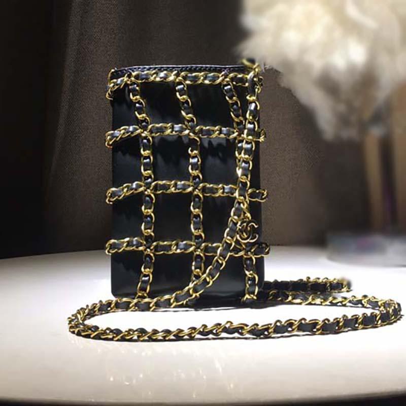 Femmes sac à bandoulière chaîne Sacs à main Sacs à main dames sac à bandoulière Mode portable Sacs Femmes Portefeuilles Sacs Noir Livraison gratuite