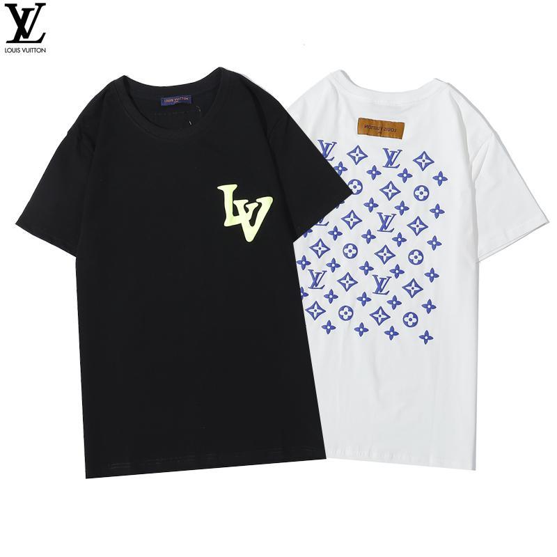 2020 t-shirt Designer Shorts de hommesCravates streetwear shirt hommes et femmes T-shirt Harajuku top méduse T-shirt Courtes