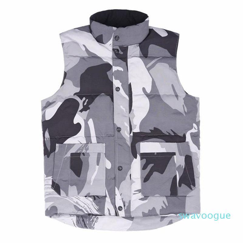 Famosa Casual Jacket Giù inverno Designer Parka uomini di alta qualità Donne Moda Uomo Inverno Vest formato S-2XL Wulong