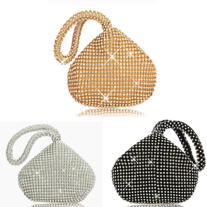 Kadınlar clutch çanta Moda elmas desen Gece Parti Çantası Mini Lady Düğün Küçük Bez Çanta Yılbaşı Hediye el çantası Cüzdan