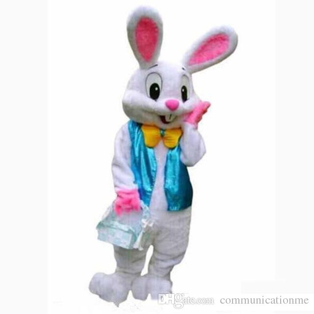 Bugs Rabbit Mascot Costume Cartoon Character Adults Cosplay Fancy Dress UK
