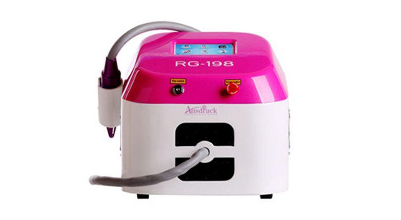 Limpieza efectiva real 2000MJ pantalla táctil Q Switched láser yag máquina de belleza de eliminación de tatuajes nd Retiro de la cicatriz del acné 1064 532nm Girar ce