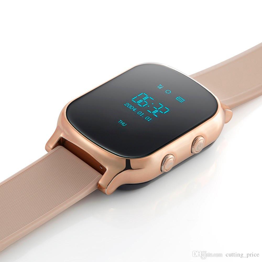T58 Smart Watch Kids Child Elder Adult GPS Tracker Smart Bracelet Personal Locator GSM Tracking Watch LBS WiFi Call Free Web APP Realtime