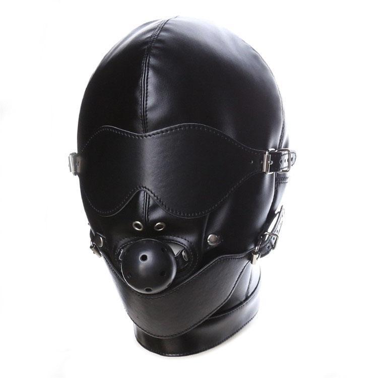 Bondage rol-play gimp máscara mojado mordaza mirada calidad convezar el arnés sexy hood # r52 vjxmo
