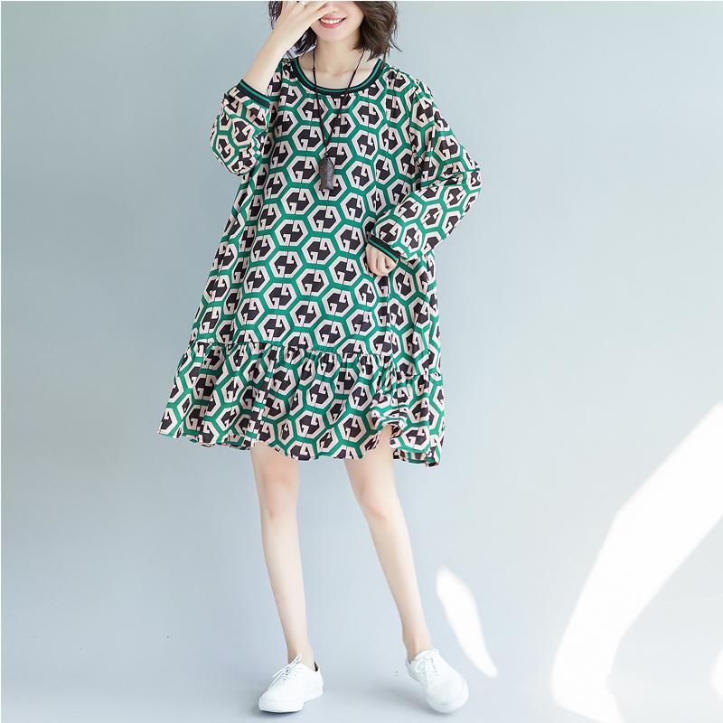 2020 New Arrive Spring Maternity Dress Woman Chiffon Long Sleeve Large Size Dresses Pregnant Woman Clothing MD-02335