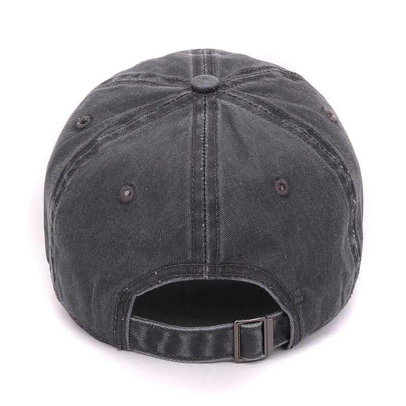 Fashion- dyed sand washed soft cotton cap blank baseball caps dad hat no embroidery mens cap hat for men and women