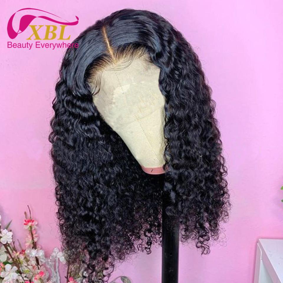 LULU Curl Vierge Cheveux perruque de cheveux humains dentelle Taille 13by6 vente chaude Pixie Curl cheveux humains Frontal Lace Wig