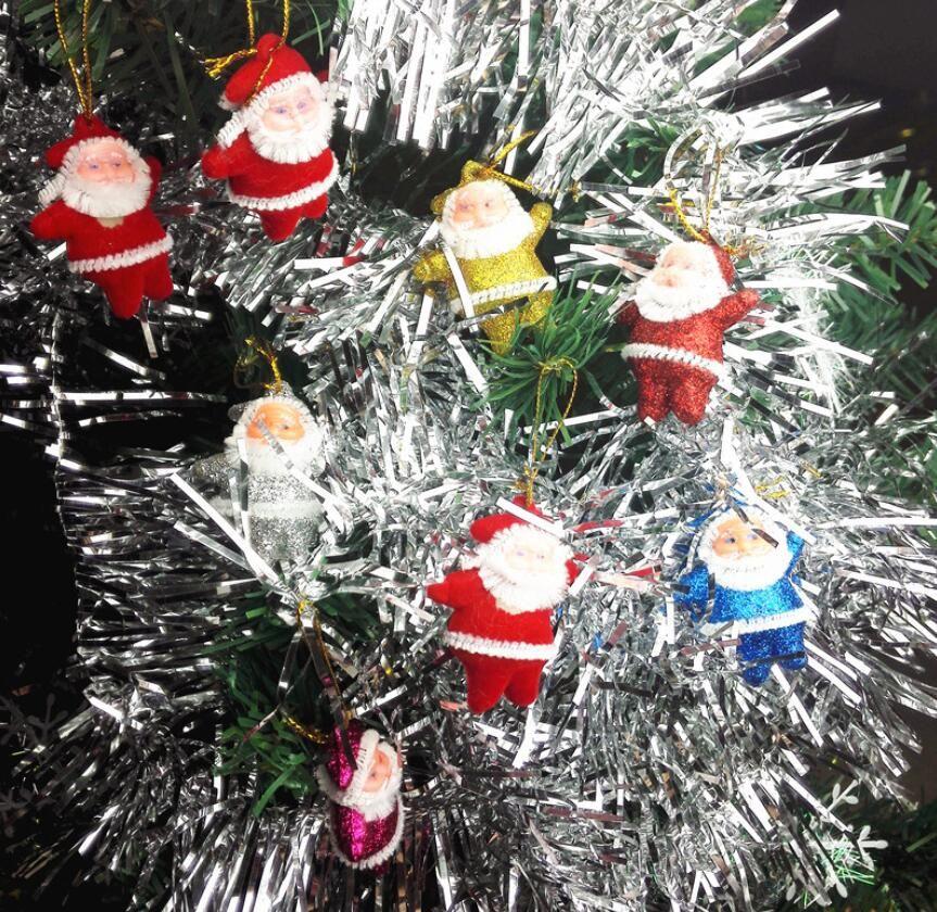 Compre Mini Papai Noel Enfeites De Árvore De Natal 5 * 4 Cm Pequenos  Presentes Para As Crianças Decorações De Natal Bonito Atacado De Knowdo,  $1,96   Pt.Dhgate.Com