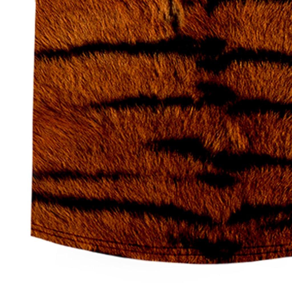 Shirt Summer Hot Sale Мужская мода животных Texture серии с коротким рукавом рубашки Одежда Уличная Камиза masculina плюс размер рубашки