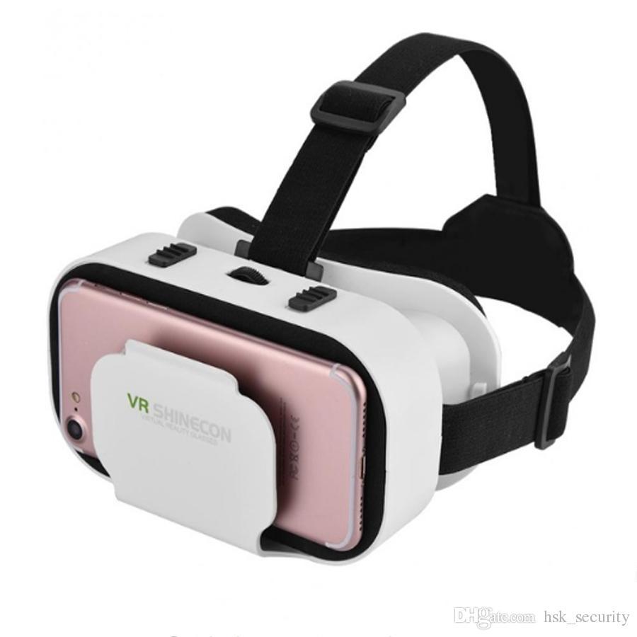 VR Shinecon VR 3D очки Виртуальная реальность очки Готовый плеер пасхальное яйцо фильмы игры для 4,0-6,0-дюймовый универсальный смартфон