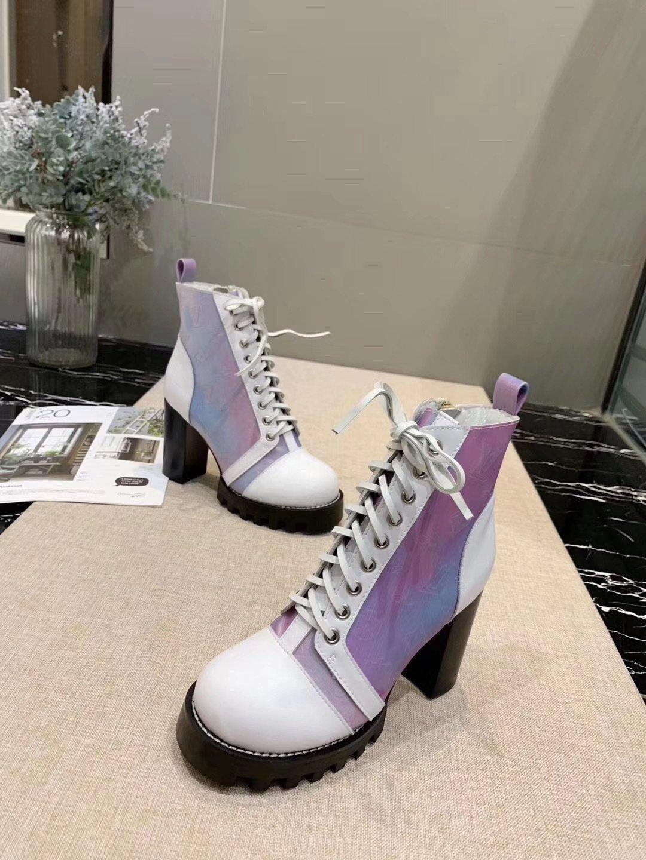 Damenschuhe Chaussures de femmes Lady Luxury Zipper Damen Mode Stiefel für Arbeit Hot hohe Spitzenschuhe der Frauen Warm Verkauf